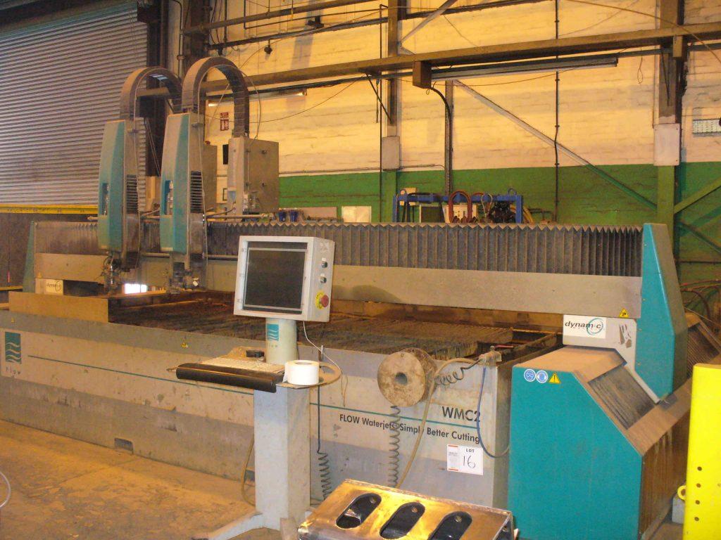 Impianto di taglio con getto ad acqua FLOW WMC 2 4020 Macchinari usati - Exapro