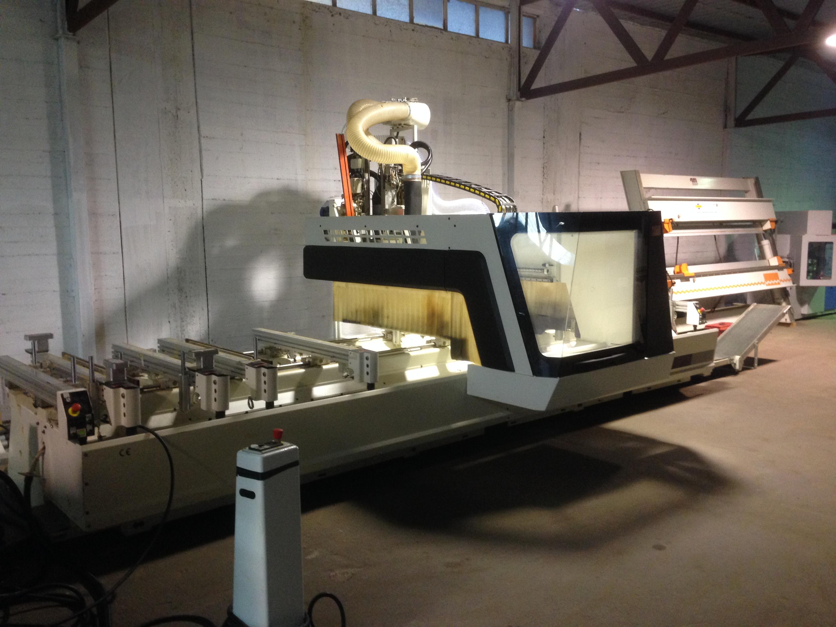Macchine Per Lavorare Il Legno : Centro di lavoro cnc scm record 132 tv macchinari usati exapro