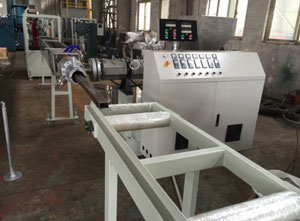 Steel pipe coating line -