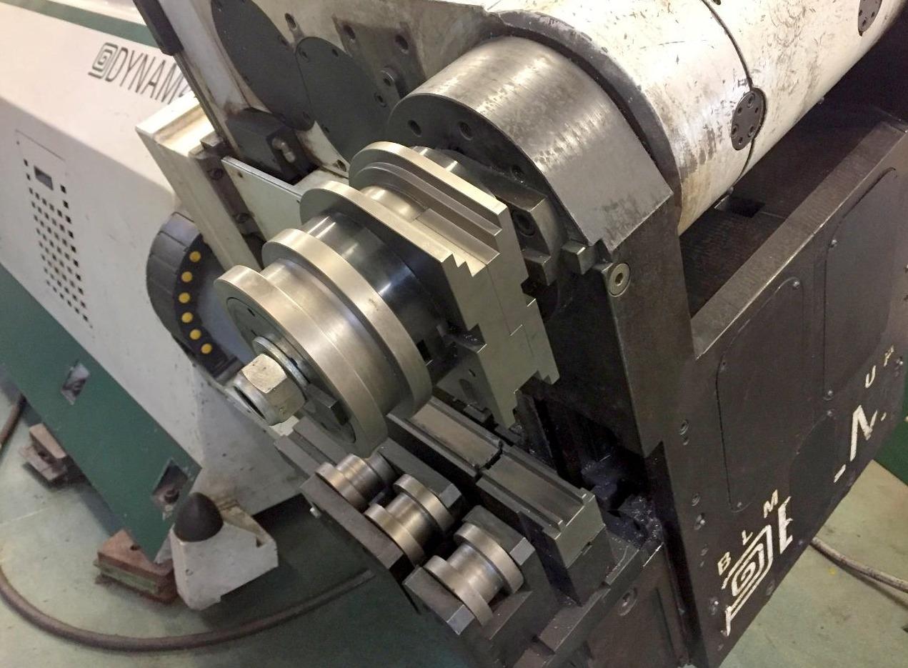 Curvadora de tubo blm dynam 4 3d maquinas de segunda mano for Curvadora de tubos segunda mano