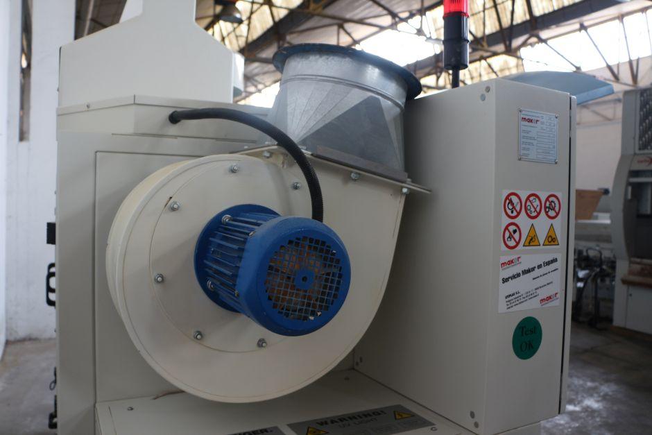 Estufa de le a makor kurex 4 1 maquinas de segunda mano for Maquina de astillar lena