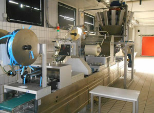 Şekillendirme, doldurma ve kapatma makinesi Multivac R270 CD