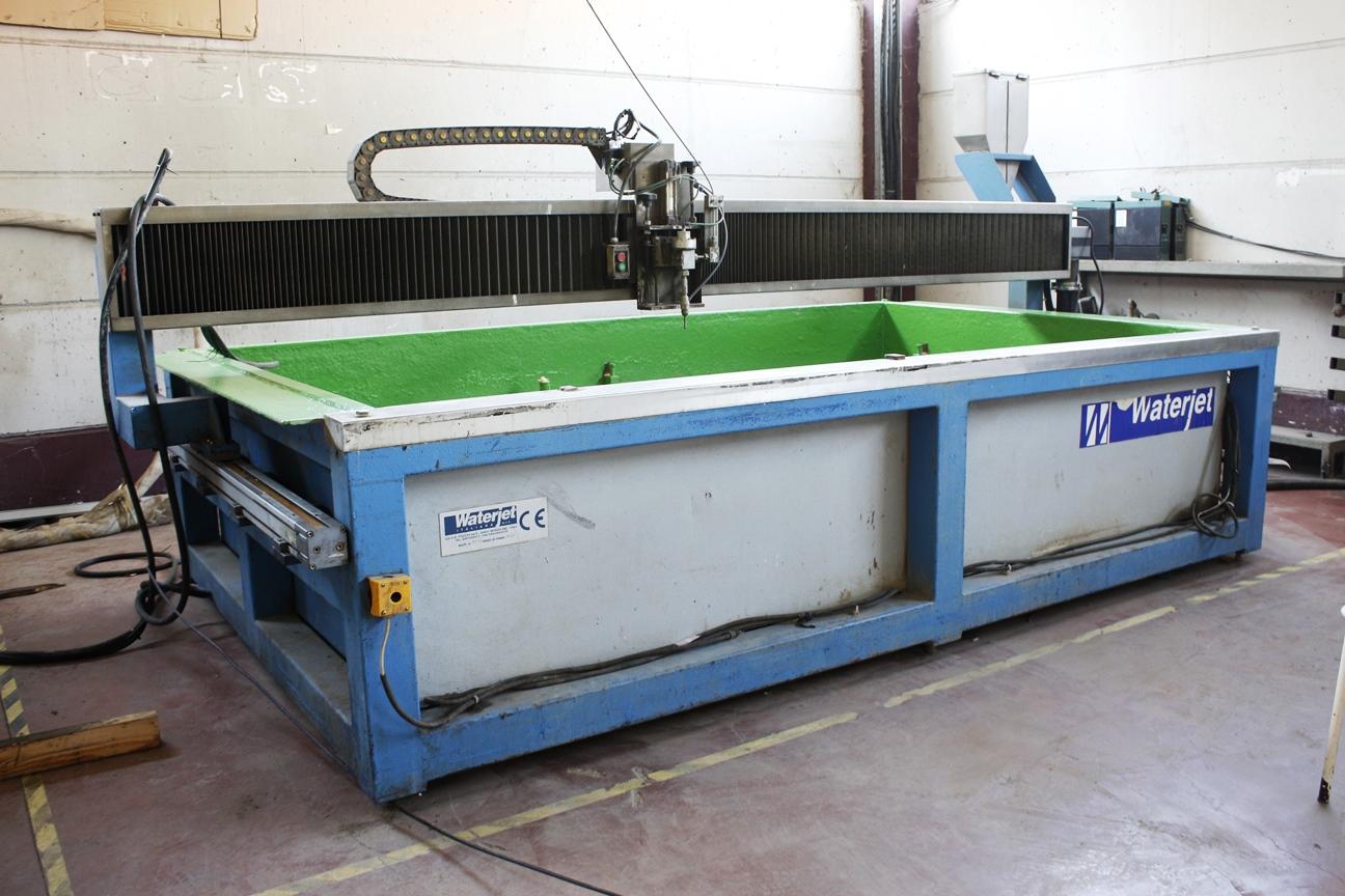 Maquina de corte con agua alta presion waterjet 3000 mm x - Maquina de agua a presion ...