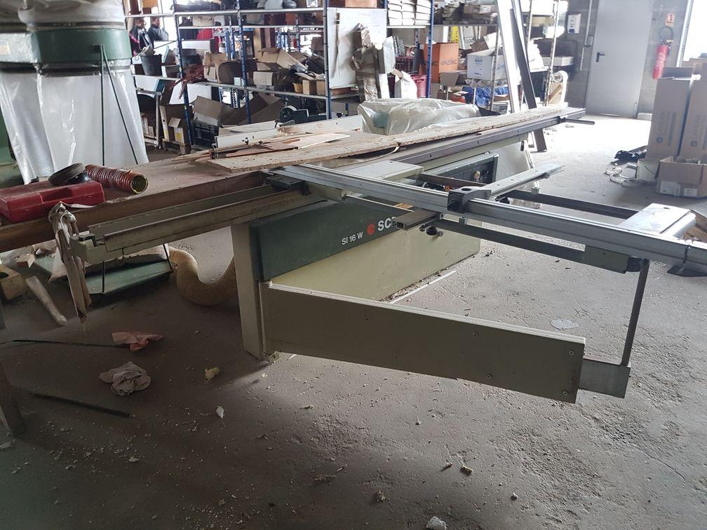 scm si 16w sliding table saw exapro. Black Bedroom Furniture Sets. Home Design Ideas