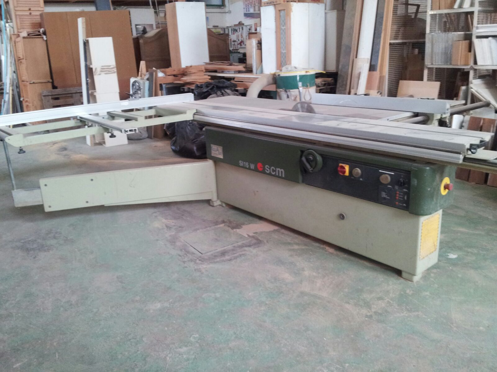 SCM SI 16 W Sliding table saw - Exapro