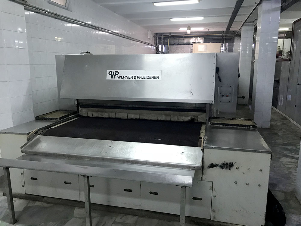 Tunnel de cuisson werner pfleiderer nu 2000 x 15 for Machine de cuisson