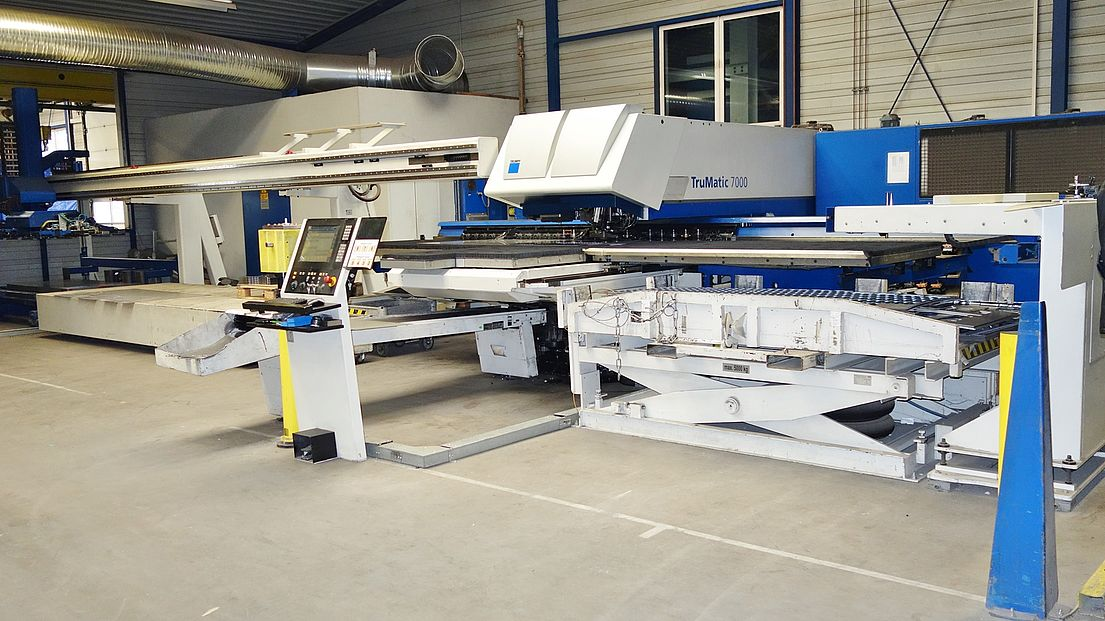 Used Trumpf Trumatic 7000 1300 Fmc Sheetmaster