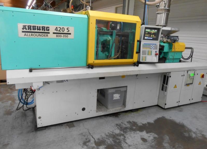 ARBURG Allrounder 420 S 800-350 Spritzgießmaschine ...