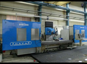 Anayak White 3800 cnc horizontal milling machine