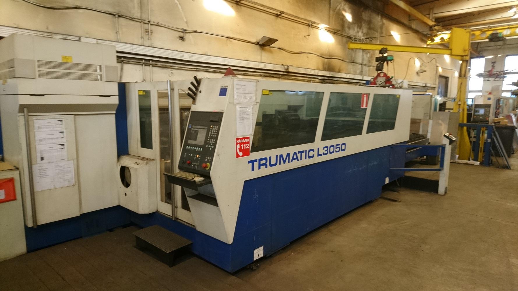 Machine de découpe laser Trumpf TruLaser 3050 Classic 6 kW Machines d'occasion Exapro # Machine Decoupe Laser Bois Occasion