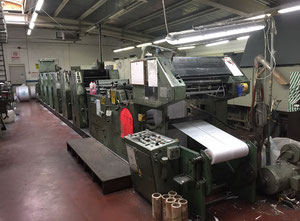 Mueller Martini Grapha 520 Web continuous printing press