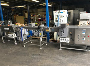 Powlekarka Stein Battering Breading & Frying line