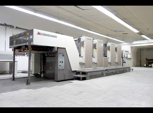 Mitsubishi D 3000 - 4R (4/0-2/2) 4 Farben Offsetdruckmaschine