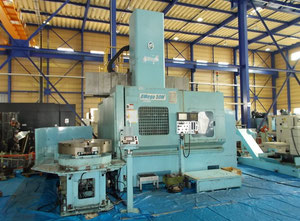 O-M OMega-50M vertical turret lathe with cnc