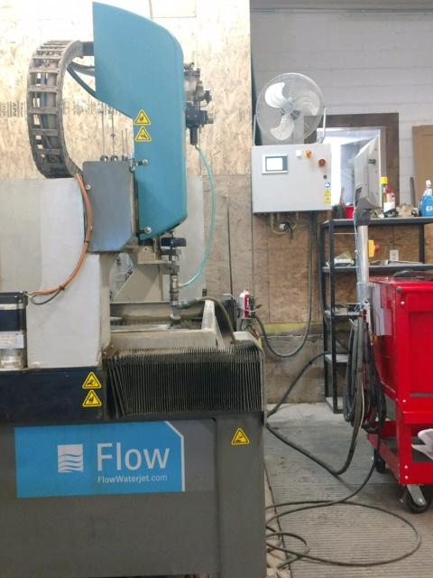 Maquina de corte con agua alta presion flow mach 2 2030c - Maquina de agua a presion ...