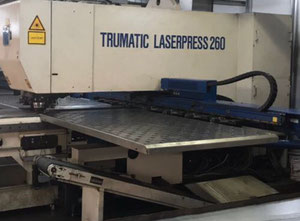 Machine combinée poinçonneuse-laser Trumpf Trumatic Laserpress 260