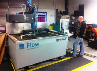 Flow Mach 2 1313B waterjet cutting machine - Exapro