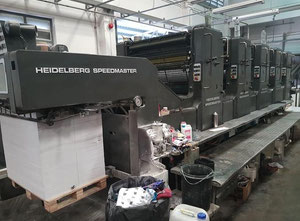 Offset cinco colores Heidelberg SM102FP