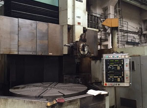 Tos Hulín Ski 20 Cnc vertical turret lathe with cnc
