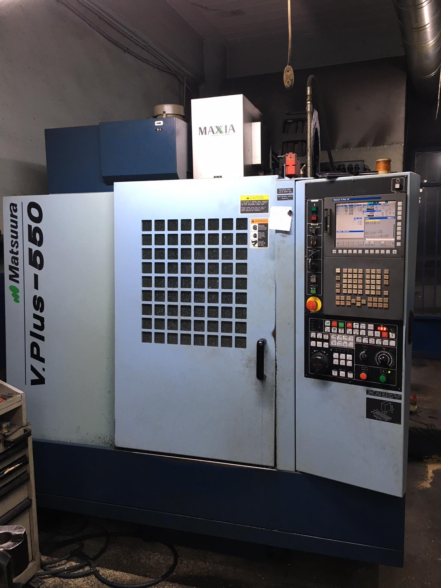 Matsuura V Plus 550 Machining Center Vertical Exapro