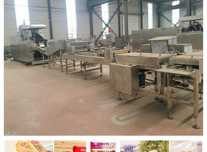 Ligne de production de croissants / biscuits  SH27/39/45/51/63/75