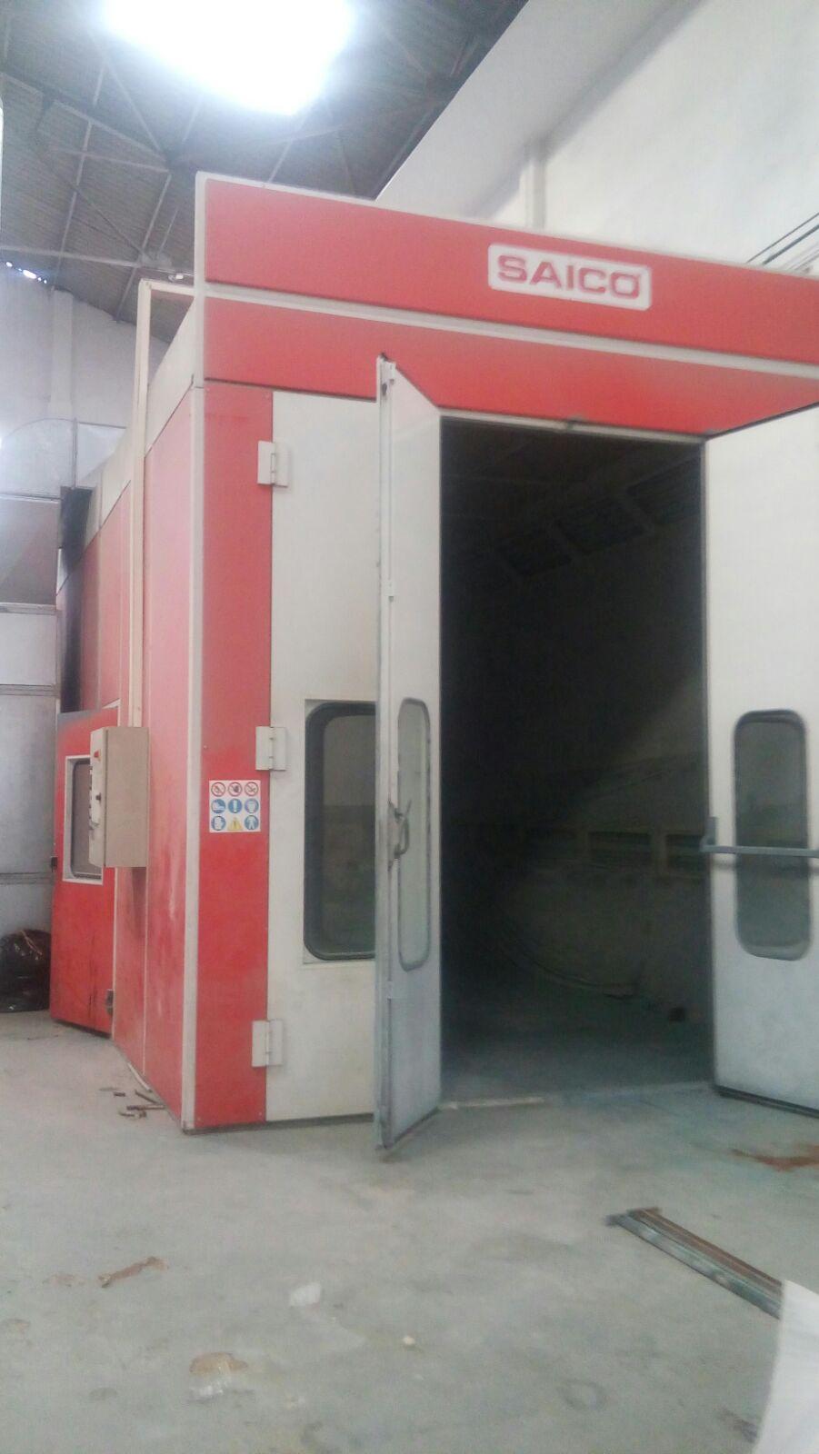Cabine de peinture saico g cen machines d 39 occasion exapro - Cabina pintura ocasion ...