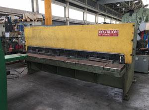 Boutillon 3000x4 Hydraulische Blechschere