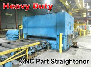 WMW 3200x40 CNC Leveling / straightening machine