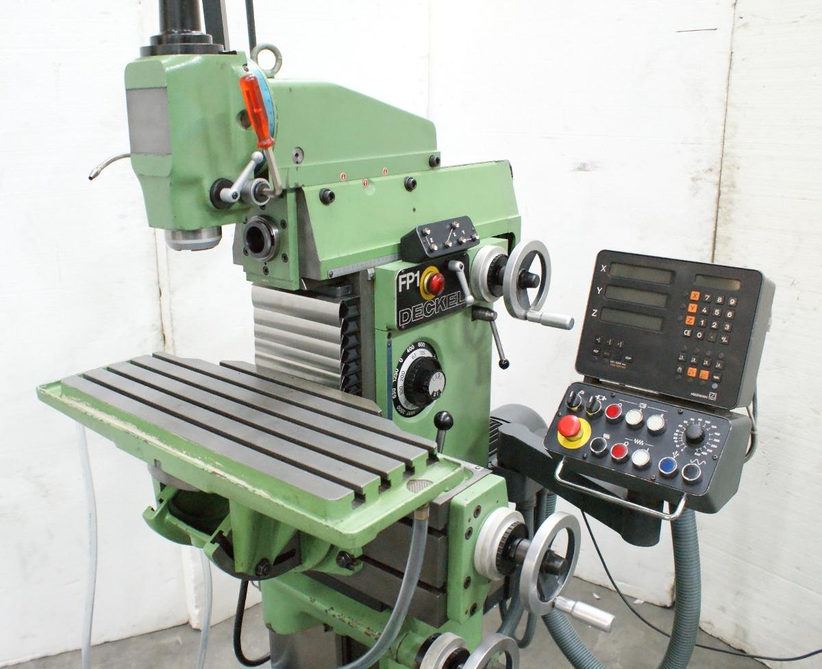 Deckel FP1 2102 Fräsmaschine Gebrauchte Maschinen - Exapro