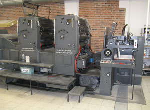 Heidelberg 72 ZP Offset two colours