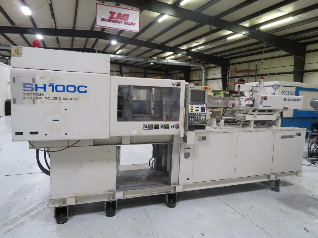 Sumitomo Sh100c Injection Moulding Machine Exapro