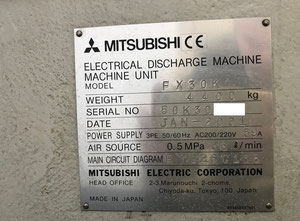 Mitsubishi FX30K edm WIRE machine