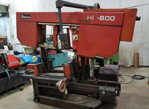 Amada HK800 band saw for metal (Angle Cut)