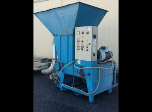 IMAS ML300 RF100 Used shredder with refiner