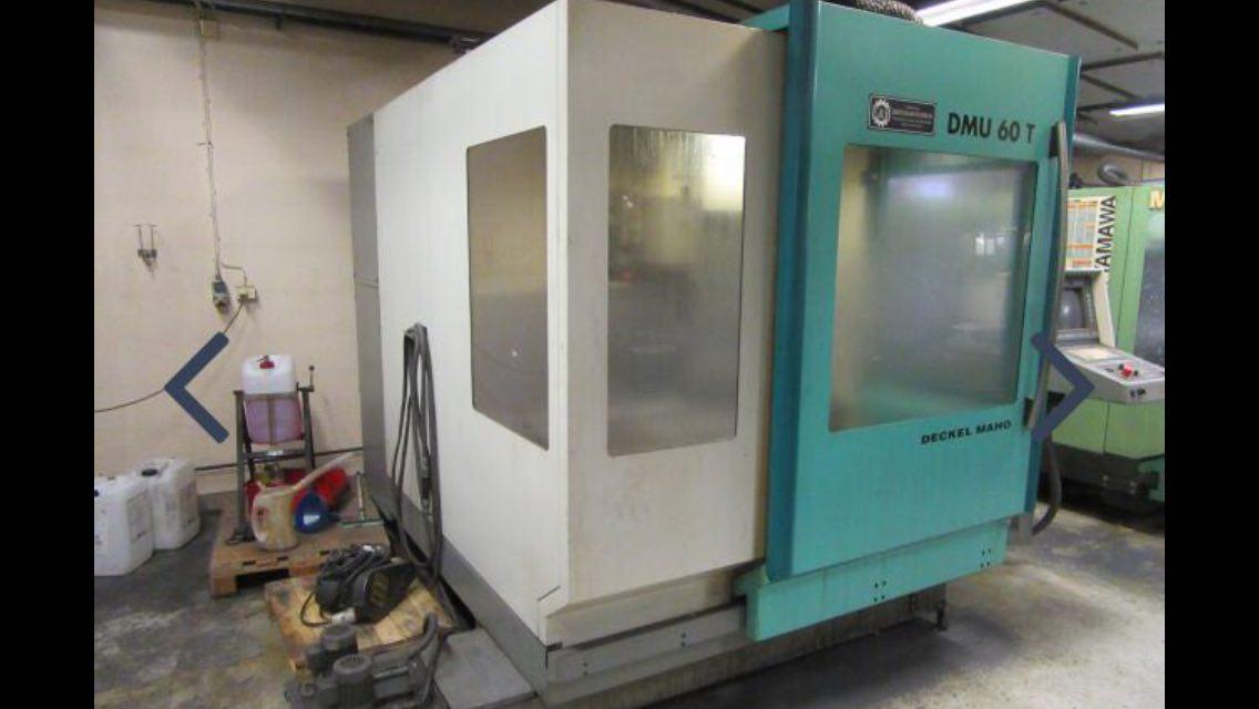 Centre d 39 usinage vertical deckel maho dmg dmu 60t machines for Dmg deckel maho