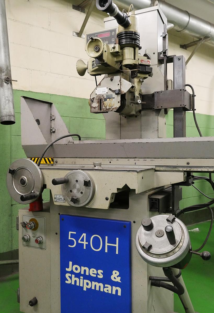 Jones & Shipman 540H Surface grinding machine - Exapro