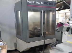 Deckel-Maho MC 600 U Bearbeitungszentrum Vertikal