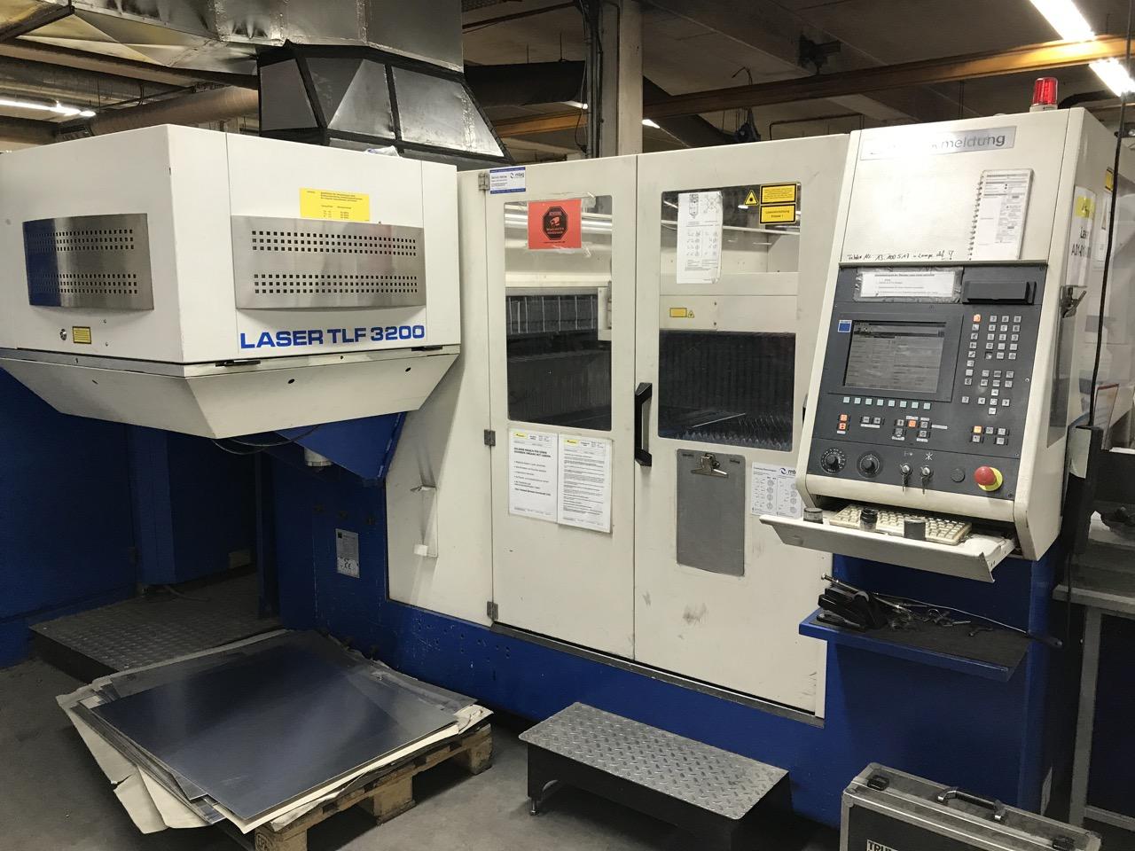 Trumpf Tcl 3030 Laser Cutting Machine Exapro
