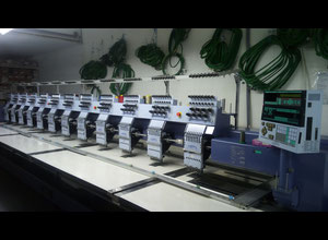 Happy Industrial Corporation HMF - L812 - 48TTC Multi-heads embroidery machine