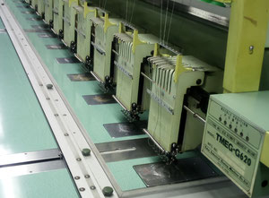 Tajima TMEG - G620 Multi-heads embroidery machine