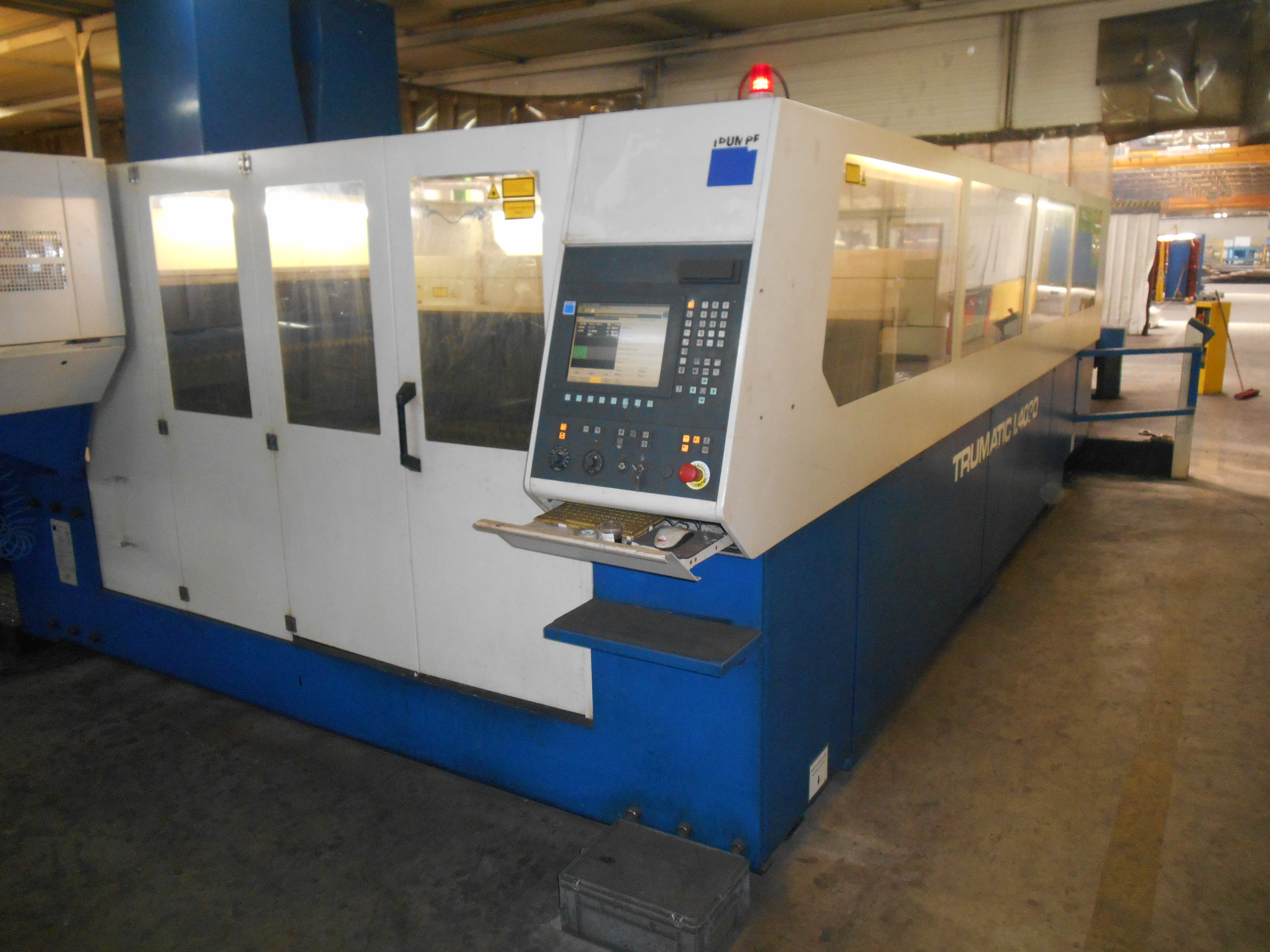 Trumpf Trumatic L4030 Laser Cutting Machine Exapro