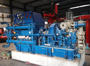 Nadrowski Bielefeld C4DS-GVI Dampfturbine / Generator (made in Germany)