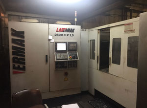 Ermaksan Lazermak 2500 3x1,5 laser cutting machine