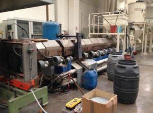 Stroj na vytlačování - Extrudér jednošroubový OMB BATTAGLIO E160