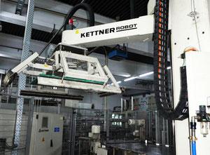 Paletovací zařízení - paletovací robot Krones / Kettner -