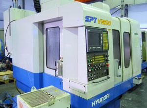 Centro di lavoro con cambio pallet Hyundai Sptv 550 D