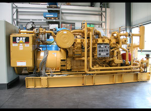Caterpillar CAT G3512 Generator Cogeneration Plant