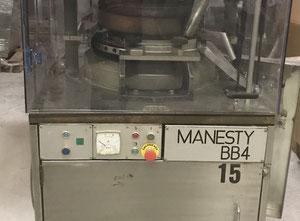 Rotační tabletovací lis Manesty BB4
