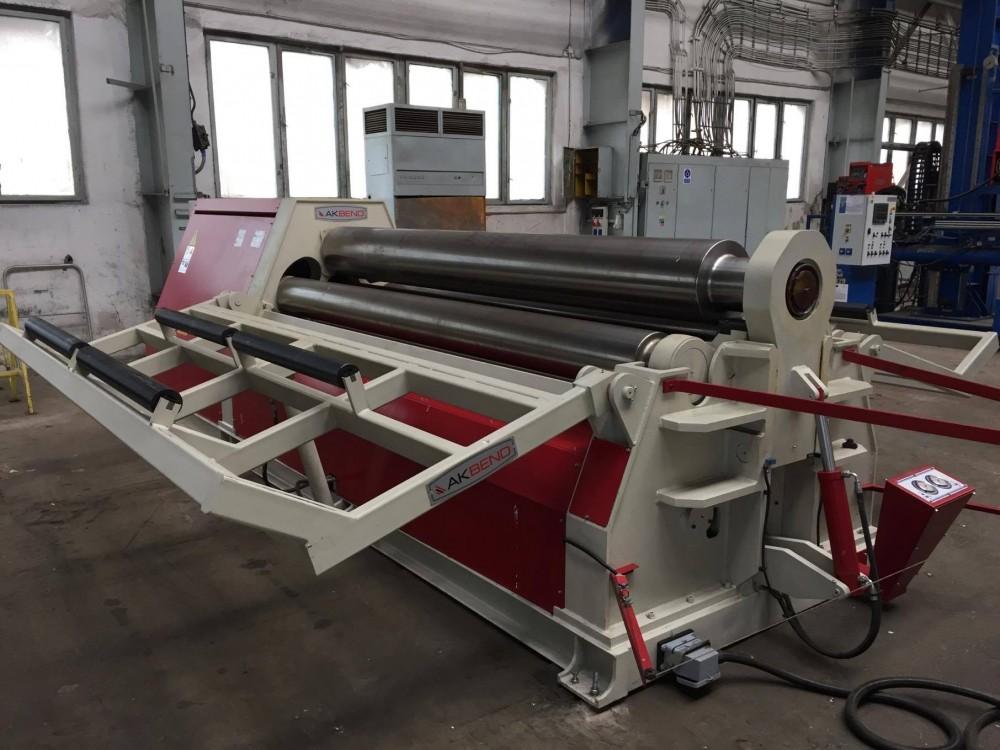 Akyapak Ahs 30 13 Plate Rolling Machine 4 Rolls Exapro