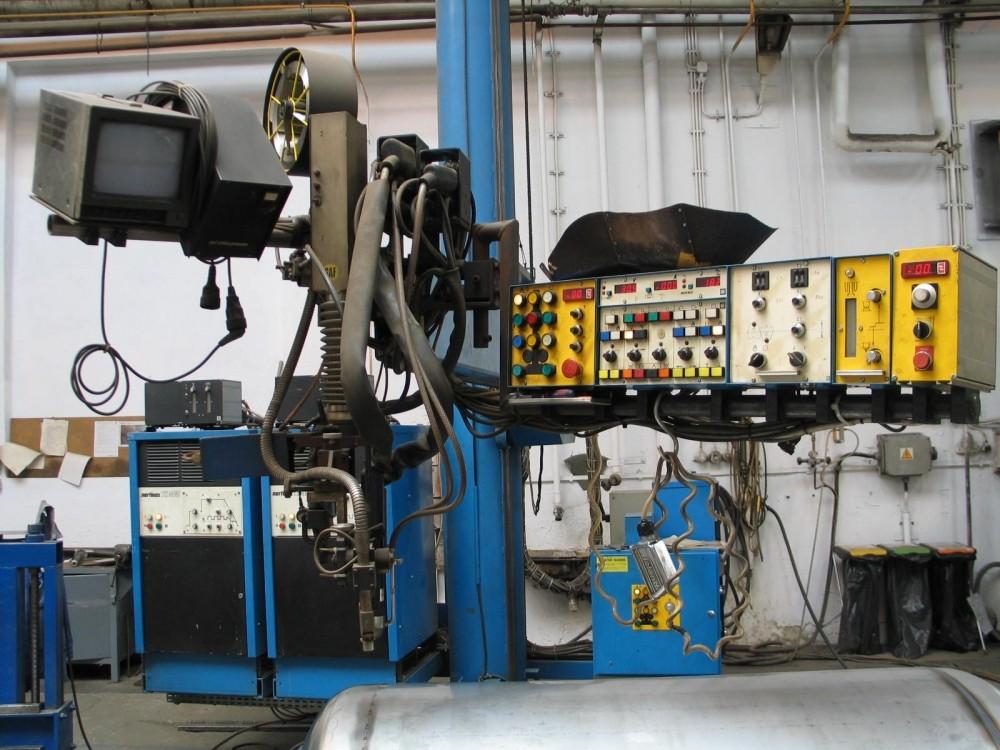 Saf Column Plasma Amp Tig Automate Welding Machine Exapro